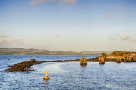 The river Clyde at Gourock, Inverclyde, Scotland.