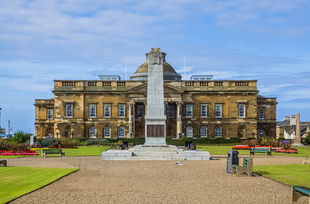 Exterior of South Ayrshire County Building in Wellington Square, Ayr, Scotland. Stock Photo
