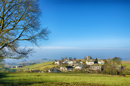 A view of The Cumbrian village of Grayrigg. North West England.