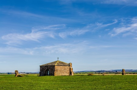 Cockersand Abbey near Cockerham, Lancashire.