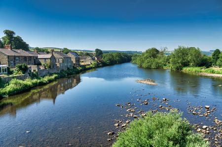 The River South Tyne at Haydon Bridge, Northumberland.