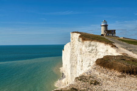 Belle tout lighthouse, a well known East sussex landmark.