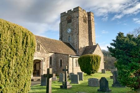 A view of St Bartholomews Church, Barbon, Cumbria