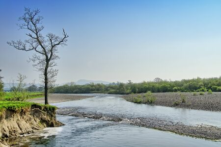 A stretch of the River Lune near Lancaster.