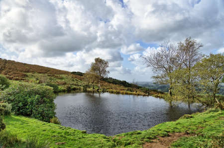 A small tarn in the Forest of Bowland