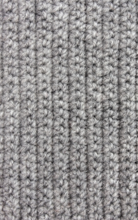 Knitted woolen background of gray color Stock Photo - 21035925