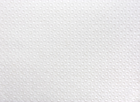 toweling:  White paper napkin texture.  Stock Photo