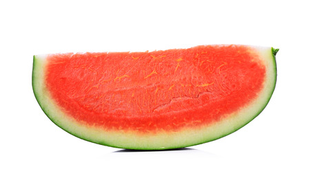 water melon: Slice of water melon on a white background.