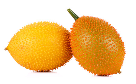 Gac fruit isolated on white background. photo
