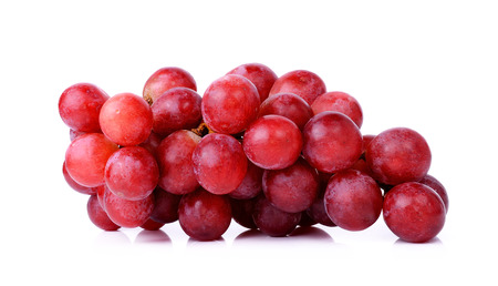 grapes isolated on a white background. 스톡 콘텐츠