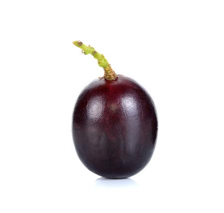 white back ground: Grape isolated on the white back ground.