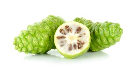 Exotic Fruit - Noni isolated on the white background. Banco de Imagens