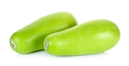 Winter melon isolated on the white background.