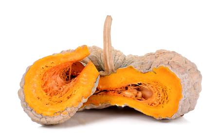 cucurbita: pumpkin isolated on the white background .