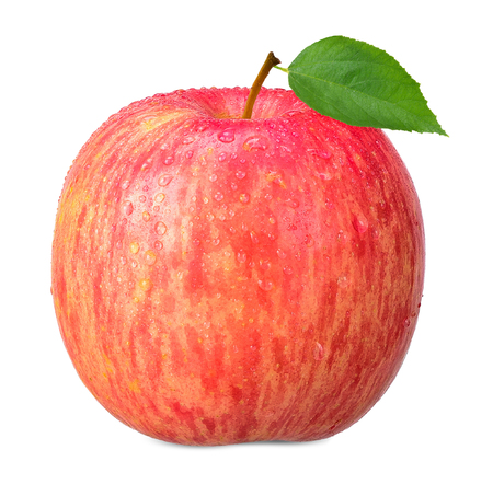 Apple isolated on white with clipping path Stock Photo
