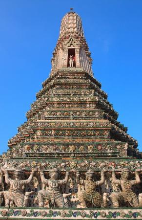 wat aroon bangkok thailand  photo