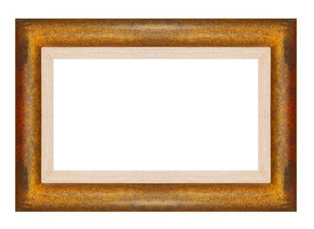 wood frame from Teak wood Stock Photo - 11311454