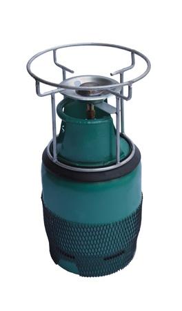 petroleum liquid gas picnic tank for cooking photo