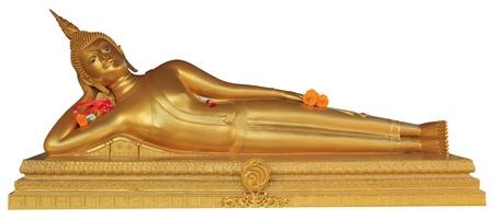 buddha image: Statue of Buddha sleep position