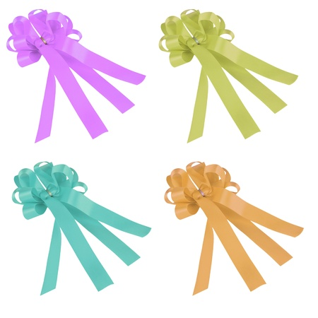 group of variety color ribbon Stock Photo - 12723587