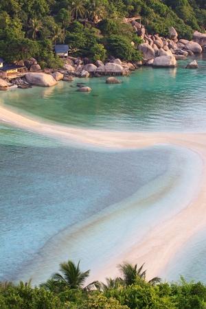 nangyuan: beach of nangyuan island thailand Stock Photo