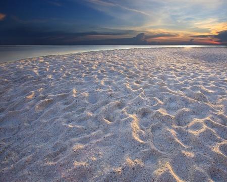 caribbeans:  sand beach beautyful light dramatic sky