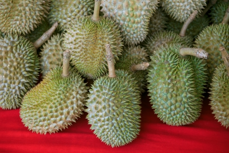 durian king of fruits in thailand  photo