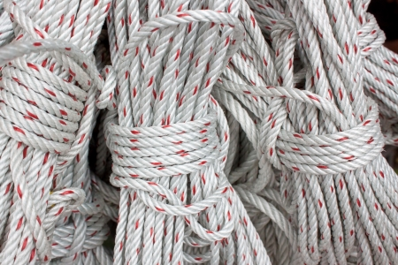 nylon rope fasten  photo