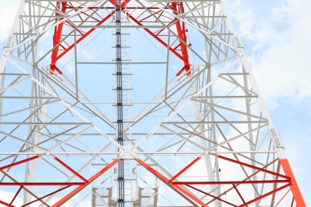 part of satellite tower Stock Photo - 14321889