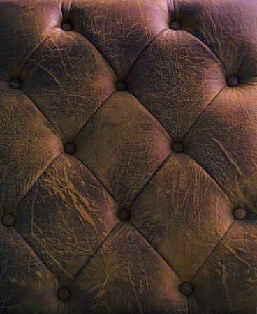 pattern and surface of luxury sofa leather with button on photo