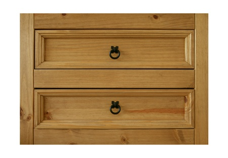 chest of drawers:  chest of drawers isolated  Stock Photo