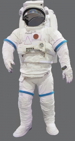 astronaut suit isolated on white background Stock Photo