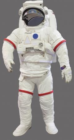 shuttle: astronaut pak geïsoleerd op witte achtergrond