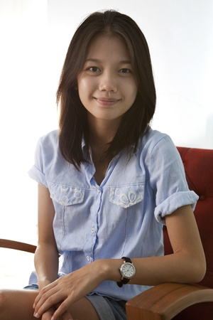 face of asian woman  Stock Photo - 15552702