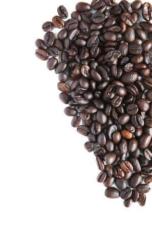 coffee bean on white Stock Photo - 15566405