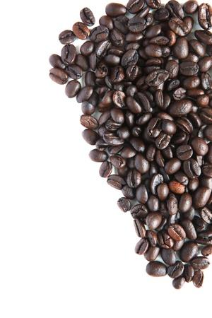 coffee bean on white Stock Photo - 15566405