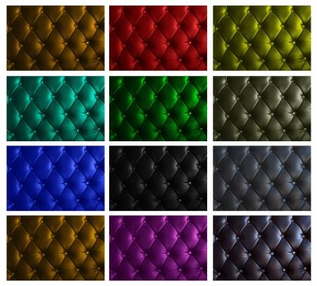 mixed color of luxury leather background Stock Photo - 15911936