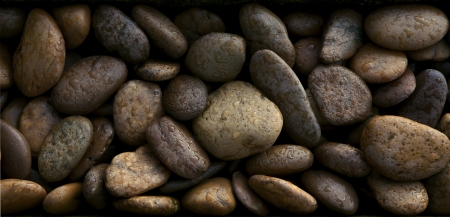 gravel texture use as natural background photo