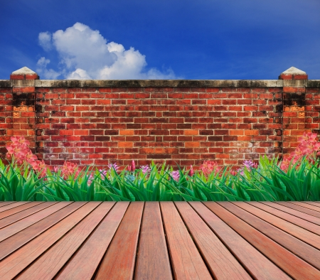 old brick wall Stock Photo - 17796403