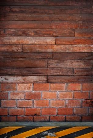 mur en bois usage de la route côté en toile de fond polyvalente