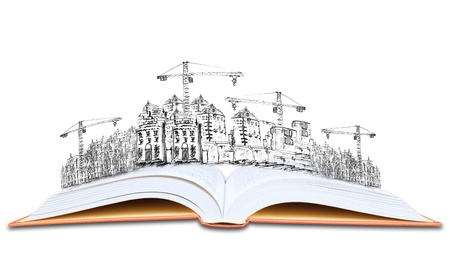 topic: open book and building construction knowledge of  architecture  topic