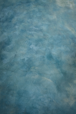 solid color: blue cement wall painting by brush texture  technical use for art and abstract background