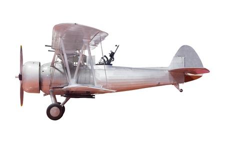 古いクラシックな飛行機 写真素材