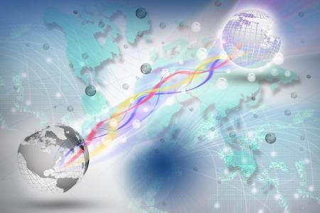 tele: world telecommunication in digital period use for multipurpose