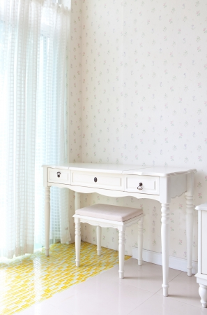 whie: empty white room for decoration  Stock Photo