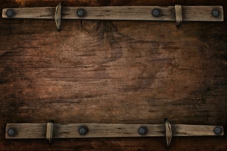 Anuncio de madera con espacio libre para usos m?ltiples Foto de archivo - 22954394