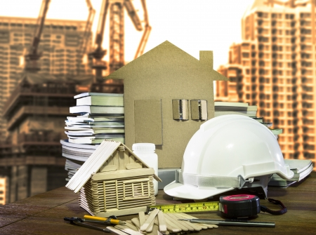 ingeniero civil: uso de la industria de la construcci�n de equipos y herramientas de viviendas y edificios para la arquitectura y tema ingeniero civil