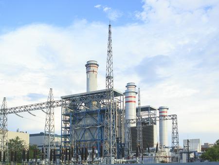 powerhouse: electric power plant in zhuhai china