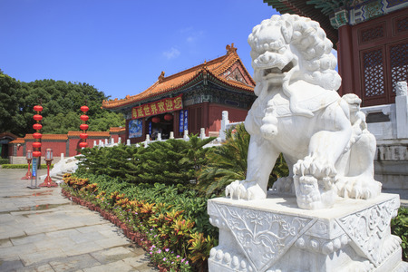 brightness: front view of Simulation of Old Summer Palace ,Gardens of Perfect Brightness, Imperial Gardens ,Zhuhai southern of China republic