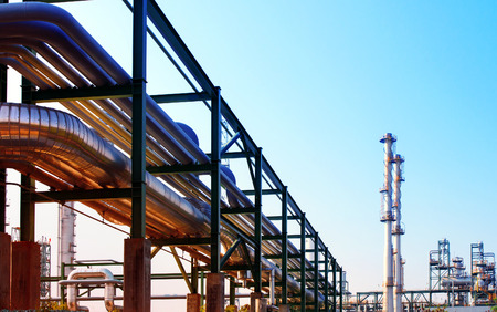 pipe line: equipment and pipe line tube in industry estate scene use for industrial and petrochemical industry background,backdrop